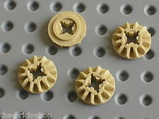 Engrenages LEGO TECHNIC Tan Gear 12 Tooth Bevel ref 6589 / 42009 8043 76042 8110