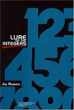 Lure of the Integers (MAA Spectrum), Roberts, Joe, Acceptable Book