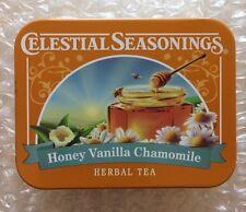NEW 2016 COLLECTIBLE TIN Celestial Seasoning Honey Vanilla Chamomile