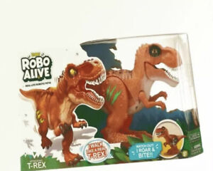 Robo Alive Volcano Fire Attacking T-Rex Battery-Powered Robotic Toy by ZURU