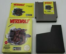 Werewolf Nintendo NES Boxed PAL - With Box, Cartridge And Manual
