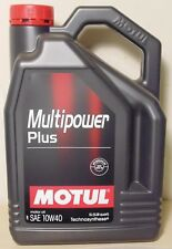 Motul Multipower Plus 10W40 Technosynthese Engine Oil 5L for Nissan Toyota Ford