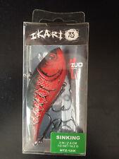 "Matzuo IKARI Shad Sinking 3"", 1/2oz, Red Craw"