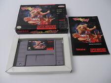 Fatal Fury (NTSC) Super Nintendo SNES Complete in box CIB OVP