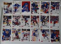 1991-92 Upper Deck UD Winnipeg Jets Team Set of 18 Hockey Cards