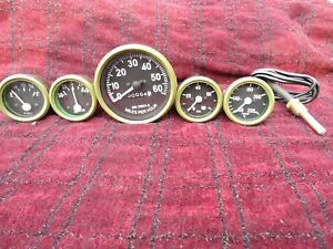 JEEP Speedometer Gauge Kit 12 V fits 1946-66 CJ-2A, 3A, 3B,M38, M38A1