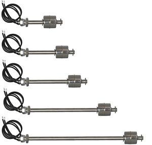 Flüssigkeit Schwimmerschalter Wasser Füllstandssensor Pegelschalter 45mm - 500mm