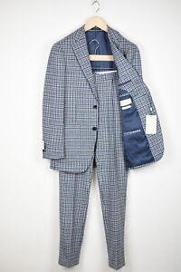 RRP$599 SUITSUPPLY HAVANA PATCH FL Men UK36R Wool Cashmere 2-Pieces Suit 15387