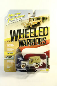 Johnny WHITE LIGHTNING WWII Willys MB Jeep GOLD Version B Release 2 RARE CHASE