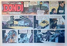 Dondi by Edson & Irwin Hasen - large half-page color Sunday comic, Dec. 11, 1966