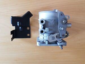 Ford CAPRI GRANADA MK2 2,8i Drosselklappenstutzen mit Halter THROTTLE TRIM NOS
