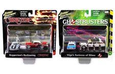 Johnny Lightning 1:64 Diorama 2 Assortment Christine & Ghostbusters Set JLDR001
