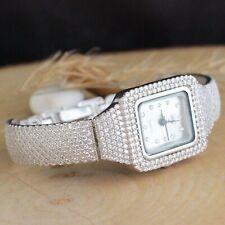925 Sterling Silver Handmade Authentic Turkish Zircon Ladies Watch