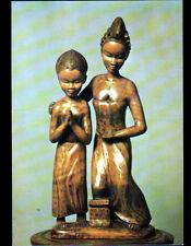 BOCANDA (COTE D'IVOIRE) ART BAOULE Sculpture bois de SAINTE-ANNE / Carte postale