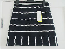 Karen Millen Striped Skirt - UK 10 - NWT