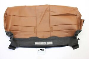 NEW OEM REAR BACK 3RD SEAT COVER LEATHER CHILI QUEST 07 08 SE SL LOWER smal hole