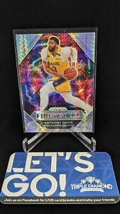 2020-21 Panini Prizm Fireworks Hyper Anthony Davis #6 LA Lakers H295