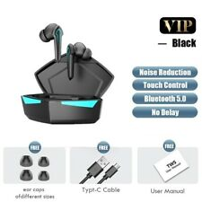 New listing Gaming Earbuds 65ms Low Latency Tws Bluetooth Earphone with Mic Bass Audio Sound