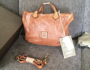 Campomaggi Leather Tote With Crossbody Strap