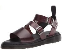 Dr. Martens Gryphon Brando Gladiator Black Leather Sandals Mens Size-13