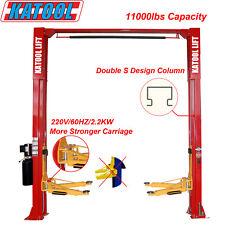 Katool two post 11000lbs clearfloor lift auto lift Garage equipment Shop Home