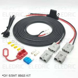 Anderson Plug Dual Battery Wiring Kit 12V DC for 4x4 4WD Ute Camper Plug & Play