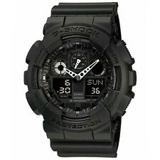 100% Original CASIO G-SHOCK GA-100-1A1 BLACK DIGITAL ANALOG