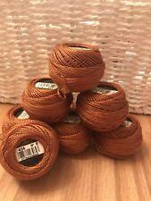 5 colour 436 Teddy Brown Skein of DMC cotton perle No