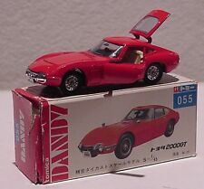 Tomica Dandy TOYOTA 2000GT Fastback Coupe Mfd in Japan MIB
