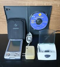 Casio Cassiopeia E-125 Ms Windows Pocket Pc / Pda with Cradle + Cd, working Ok