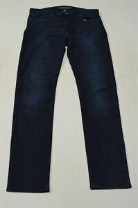 Banana Republic 34 x 36 Traveler Slim Fit Dark Rinse Flex Denim Jeans
