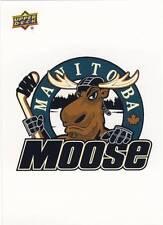 2014-15 Upper Deck AHL MANITOBA MOOSE Vintage Sticker #65 Jets