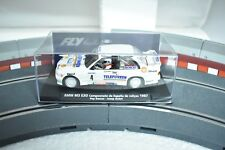 88203 FLY CAR MODEL 1/32 SLOT CAR BMW M3 E30 CTO ESPANA RALLYES 1987
