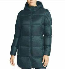 New Eddie Bauer Women's 550 Fill Power Luna Peak Down Parka Hooded Coat Small