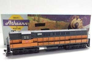 HO Scale - Athearn - Custom Milwaukee Road Trainmaster Dummy Diesel Train #550
