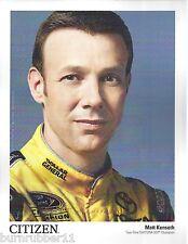 """2015 MATT KENSETH """"CITIZEN WATCH"""" NASCAR SPRINT CUP POSTCARD"""