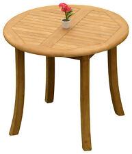 "36"" ROUND TABLE - A GRADE TEAK WOOD GARDEN OUTDOOR INDOOR DINING FURNITURE PATIO"
