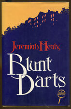 Blunt Darts by Jeremiah Healy-HC/DJ-1984-Author's First Mystery Novel