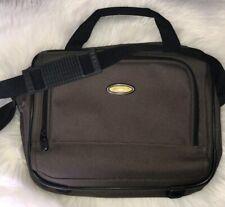 Eddie Bauer Messenger Bag Olive Green Laptop Computer Briefcase