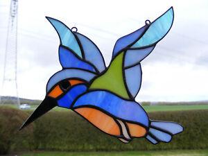 Tiffany Glasfensterbild  EISVOGEL