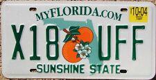 FLORIDA Oranges License Plate Sunshine State - Random Letters - FL