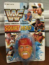 NEW 1989 WWF WORLD WRESTLING FEDERATION HULK HOGAN SQUIRT HEAD - NEVER OPENED