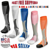 Compression Socks 20-30mmHg Sport Medical Grade For Men Women Plantar Fasciitis