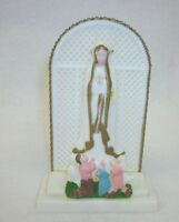 Our Lady of Fatima - Made in Italy - Figural Shrine