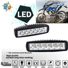 36'' 8pcs Motorcycle LED Under Glow Strip Light Rock Accent System For YZF R1/R6