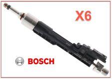 6 X BMW OEM High Pressure Fuel Injector GDI BOSCH 13647639994 2.0L 3.0L 4.4L
