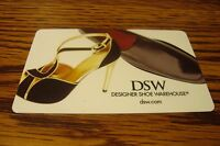 DSW Designer Shoe Gift CARD NO VALUE-Never Used or Activated Collectable