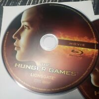 The Hunger Games Blu-ray Disc, 2012, 2-Disc Set ONLY NO COVER, NO DIGITAL