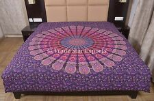 Indian Mandala Duvet Cover Queen Doona Blanket Cover Boho Cotton Quilt Cover