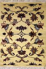 Rugstc 2.5x4 Pak Persian Gold Area Rug, Hand-Knotted,Floral with Wool Pile